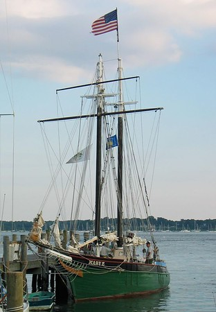 Take a sail from Greenport on the MARY E. Built in 1906 in Maine, she was used for swordfishing around Block Island. You can learn more about her here:http://www.greenportvillage.com/maryE.htm