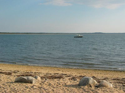 Peconic Bay from Orient NY.