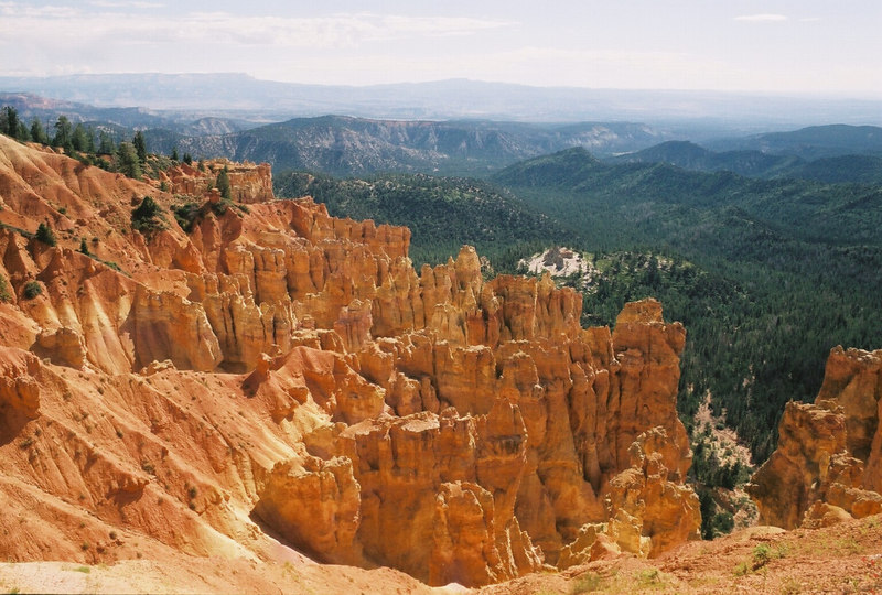 One of the best places in the world: Bryce Canyon.