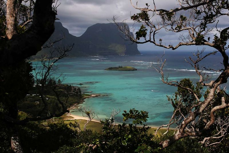 From the climb to Kim's lookout.