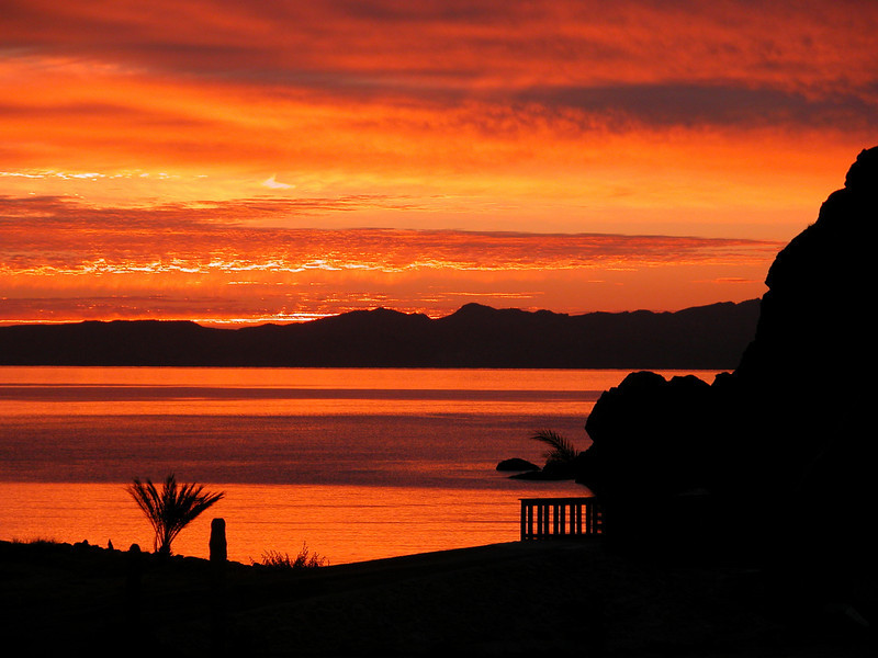 Loreto_016<br /> Sunrise over the Gulf of California. (no enhancement btw)