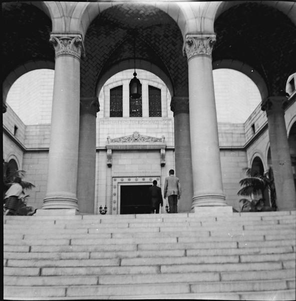 Los Angeles City Hall entrance