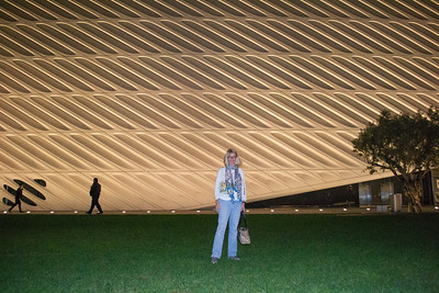 me in front of The Broad
