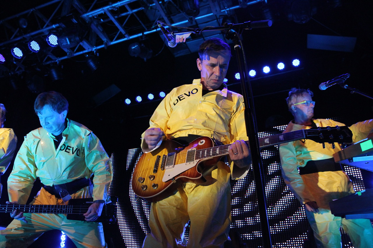 Devo from the front row: The Canyon Club, Agoura Hills, CA. August 26, 2011.