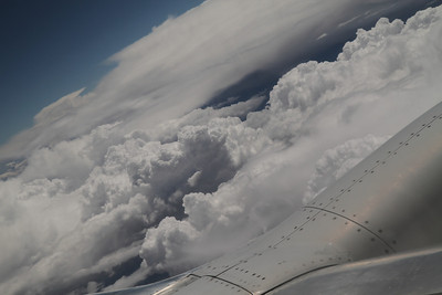 Clouds over Colorado. August 25, 2011.