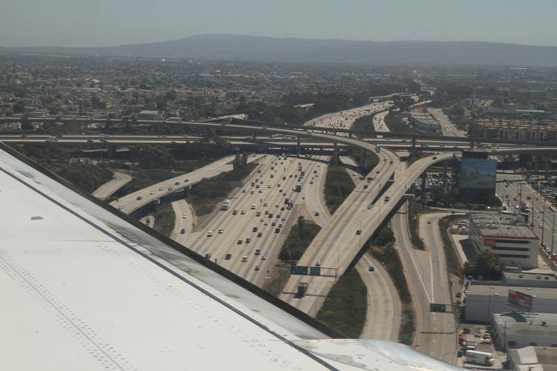 LA freeways. August 25, 2011.