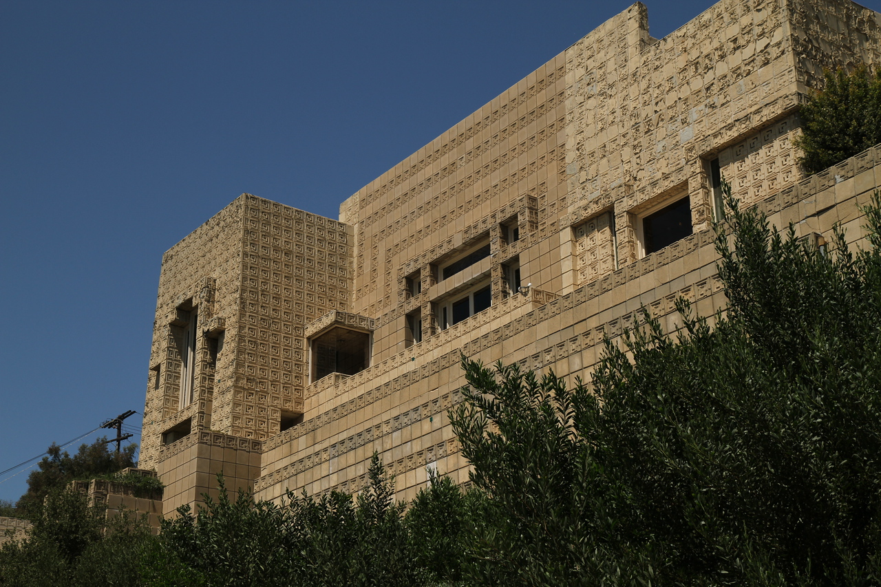 The Ennis House. August 29, 2011.
