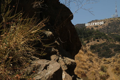 Bronson Canyon: air temp at 100 fahrenheit. August 27, 2011.