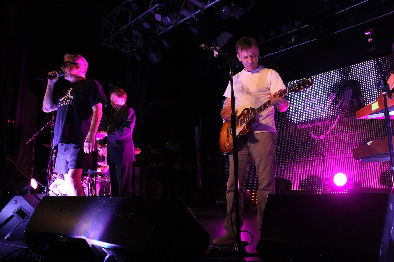Devo sound check: The Canyon Club, Agoura Hills, CA. August 26, 2011.