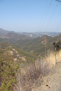 The scenic drive down to Malibu Beach and the Pacific Ocean.