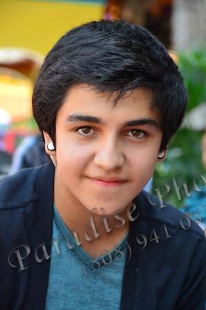 Ramiro white earring 0911 1353
