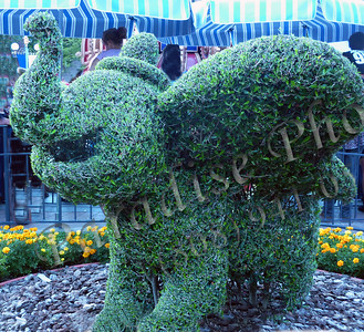 Disney Flying Elephant bush 587