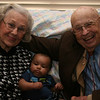 Oseia meeting his Great-Grandparents