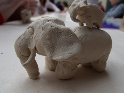 It's not really piggyback.. elephant-back?