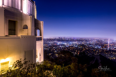 Griffith Park, night