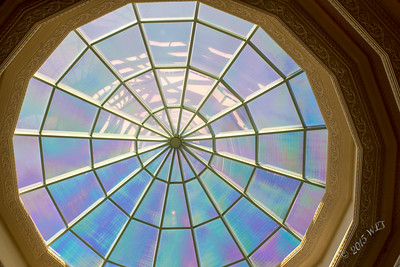 Glass Dome Ceiling