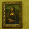 Leonardo da Vinci's Mona Lisa at Louvre