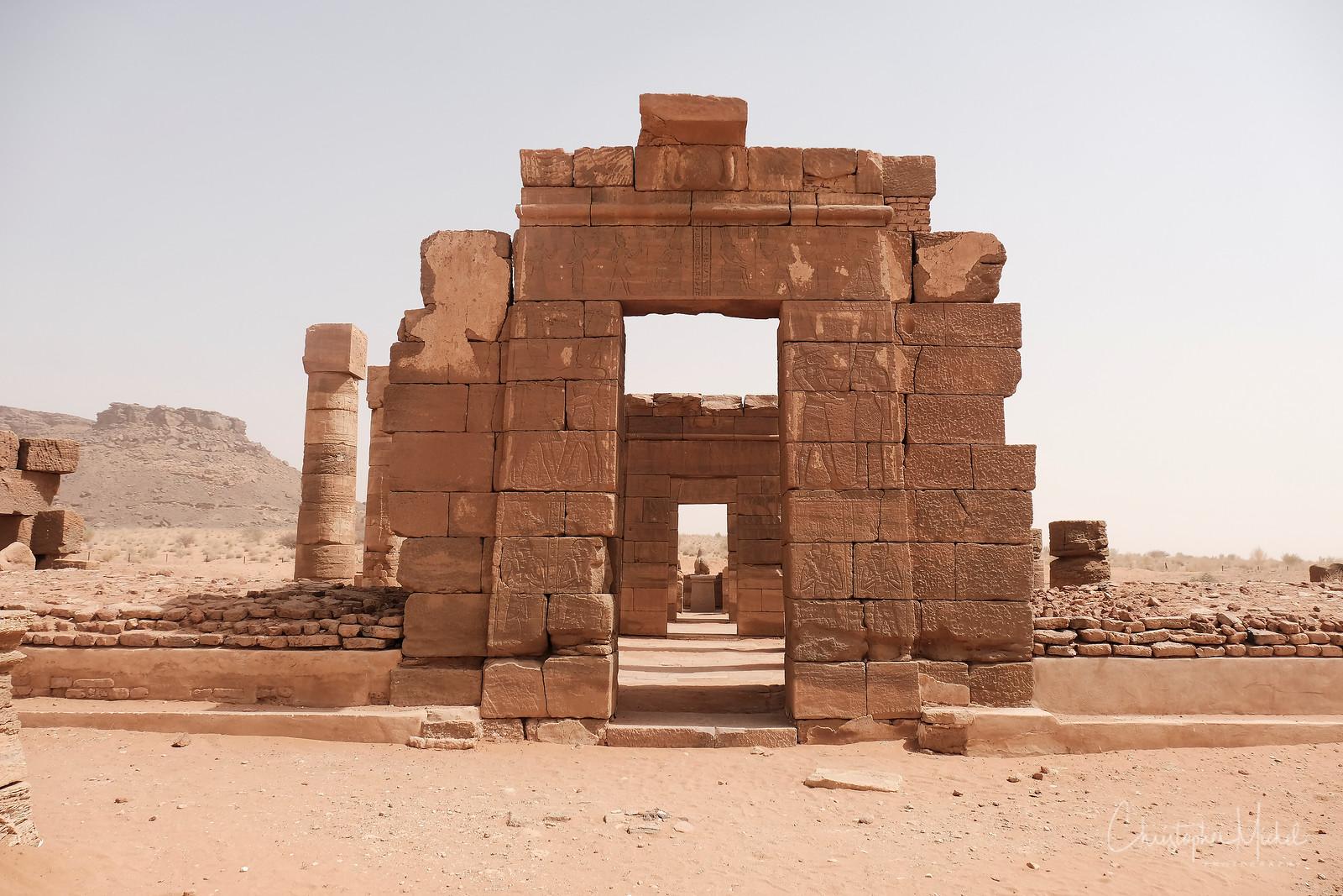 Meroitic Temple of Amun.  https://en.wikipedia.org/wiki/Naqa