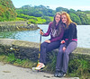 Robyn and Shirley at Lough Hyne. They even went swimming!