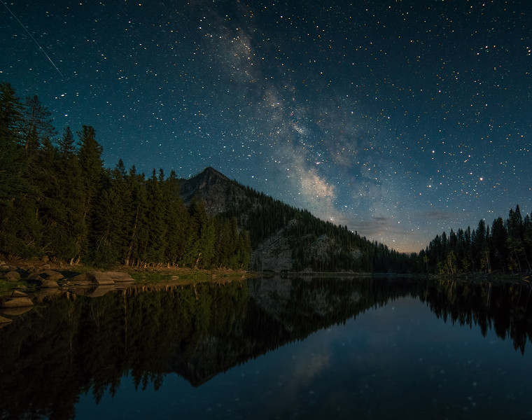 Louie Lake Milky Way