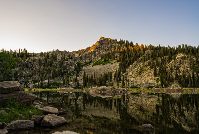 Louie Lake Island
