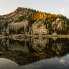 Morning Panorama At Louie Lake