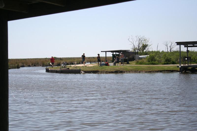 fishing landing