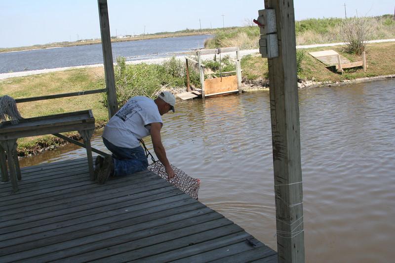 Rick crabbing