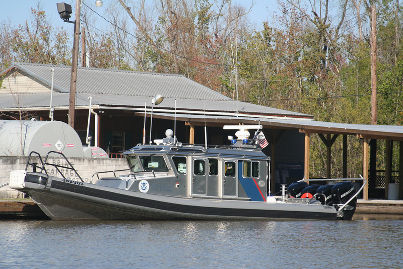 Homeland Security boat