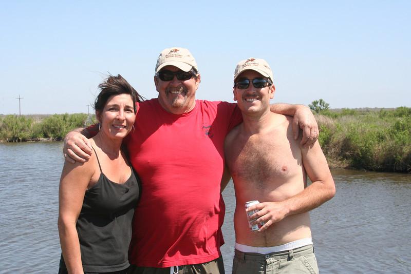 Sheryl, Jim, Sean