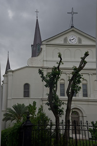 Back of St. Louis Cathedral