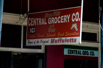 Central Grocery in the French Quarter