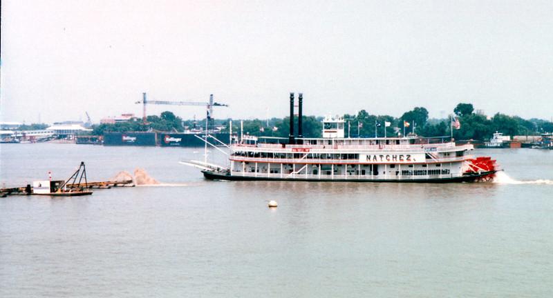 Mississippi River Boat - New Orleans, LA  8-27-98