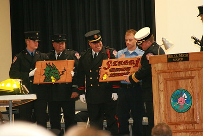 St Tammany Fire Protection District 1 Academy Fall 08 Graduation