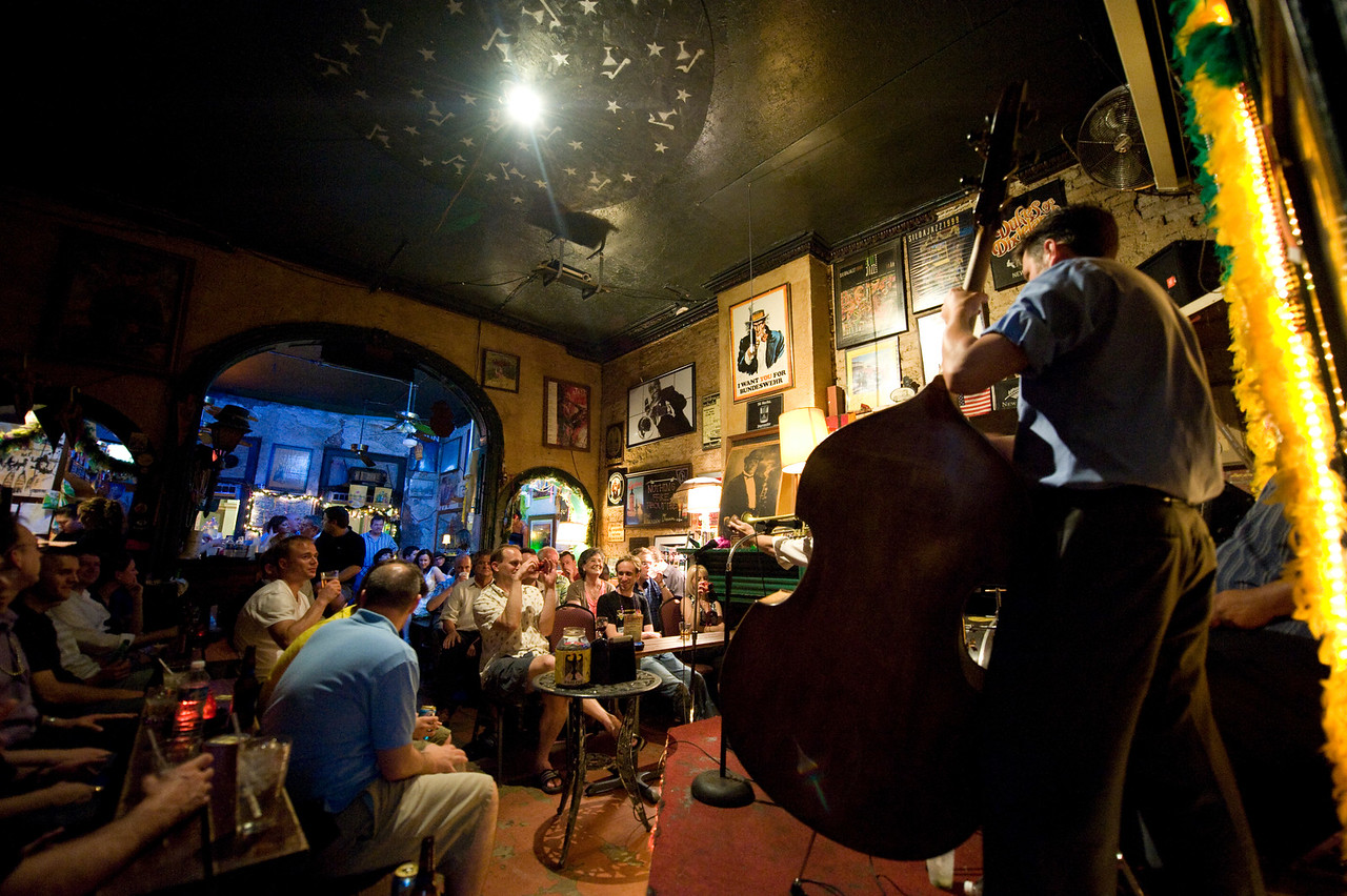 Fritzel's Jazz Club, New Orleans.
