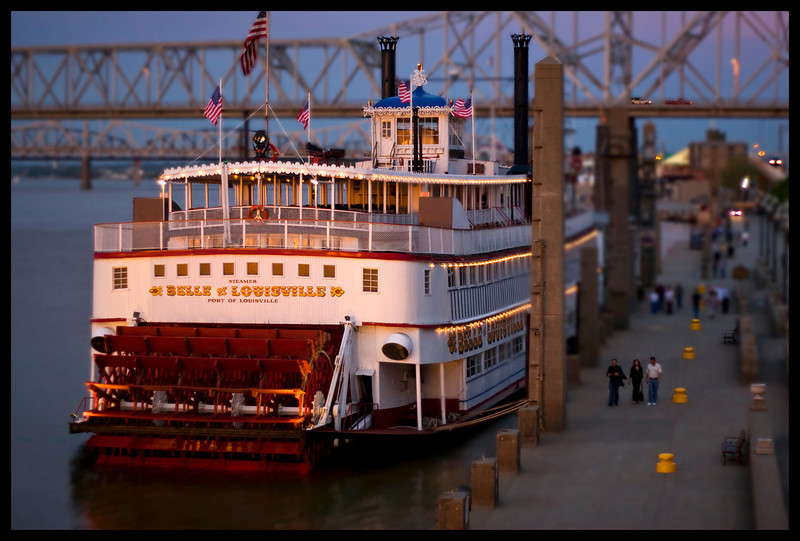 Belle of Louisville Faux Tilt Shift