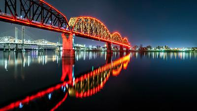 Big Four Bridge at Night