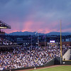 Sunset from Coors Field (8.8.09)