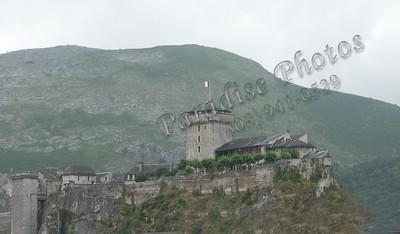 Fort de Lourdes Pyrenees Mtns