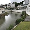 The river Gave de Pau in Lourdes