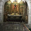 chapel in fortress above Lourdes