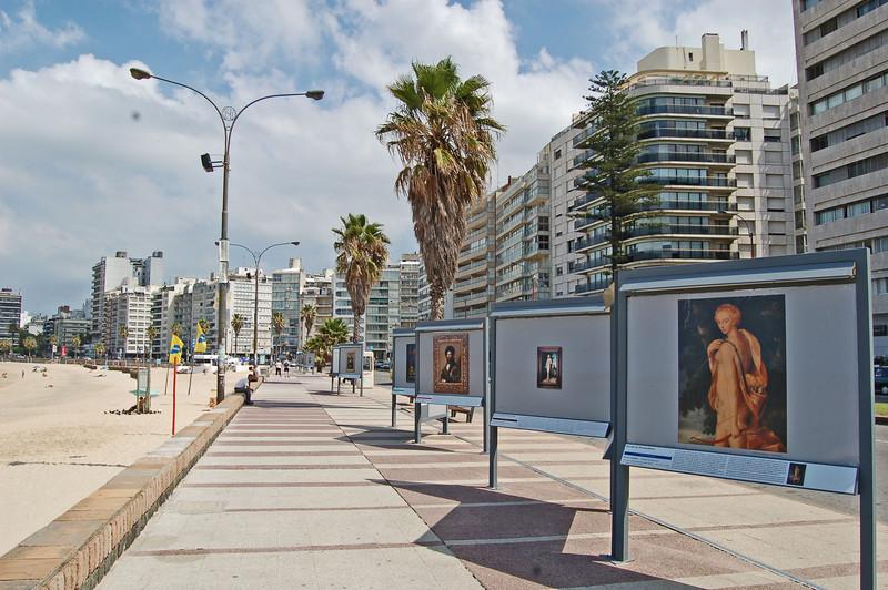 Pocitos Beach Louvre Exhibition