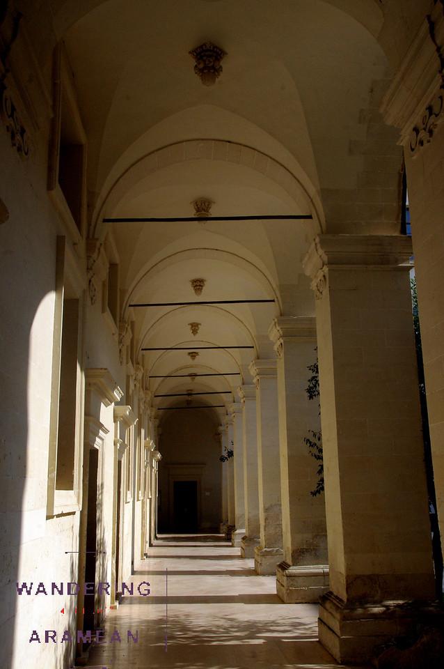 Inside the Museo di Arte Sacra