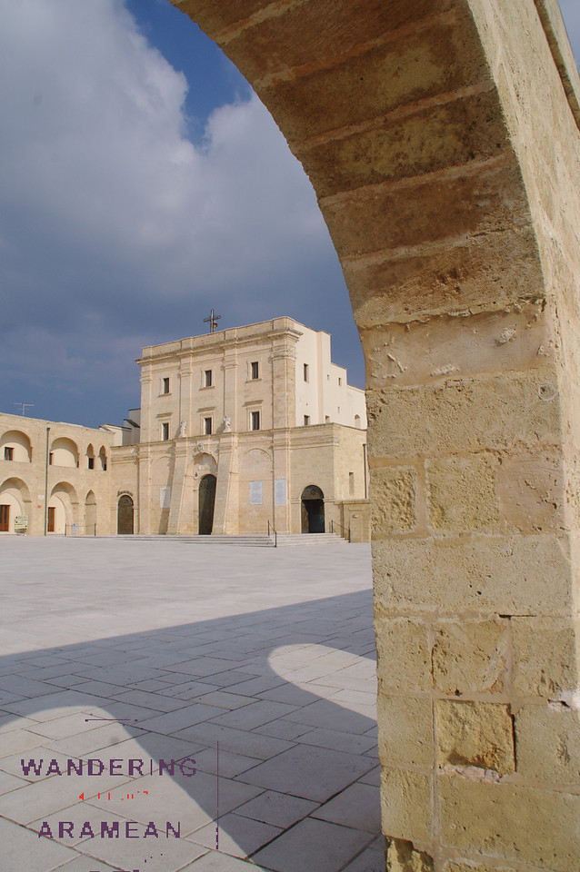 The church at Santa Maria di Leuca