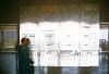 High rise elevator control display bank Inland Steel building