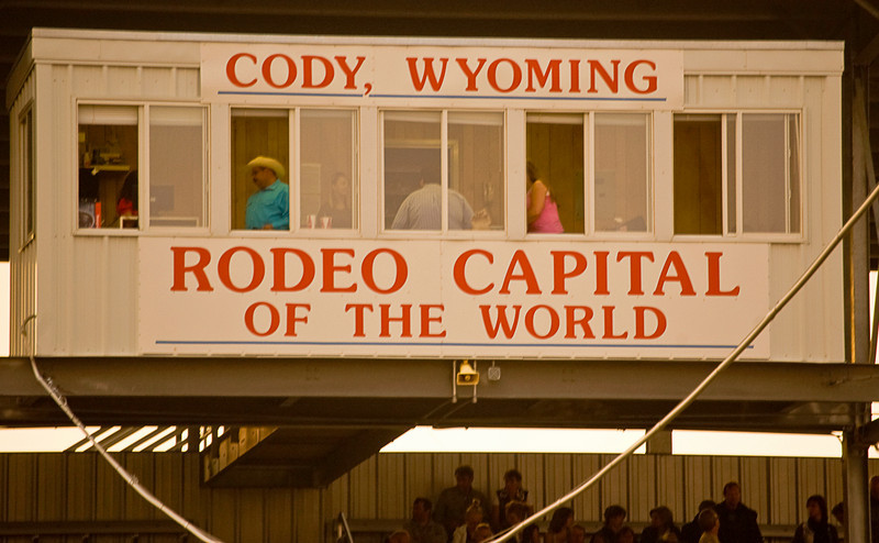 When you go to the rodeo, sit on the side opposite the announcer's booth. You will be closer to the chutes that the bulls and broncos come out where most of the eight second (or less) rides take place and you'll be among the family and friends of the riders.