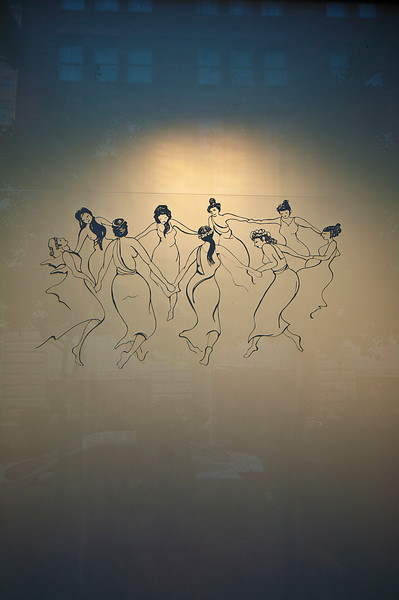 Nine ladies dancing…but no lords a-leaping or maids a-milking.