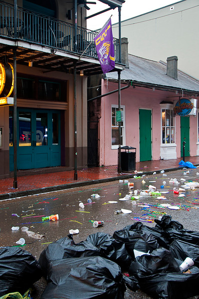 And this was not a New Year's morning or the day after the Sugar Bowl or -- for god's sake -- Mardi Gras. <br /> <br /> Just a Monday morning, coming down