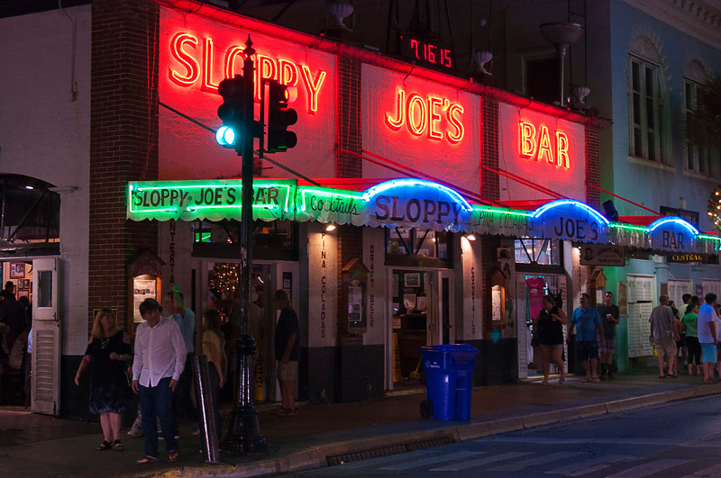 The fourth door to the right is the Sloppy Joes' t-shirt shop; sorry Papa!<br /> <br /> When did Key West become a family destination?