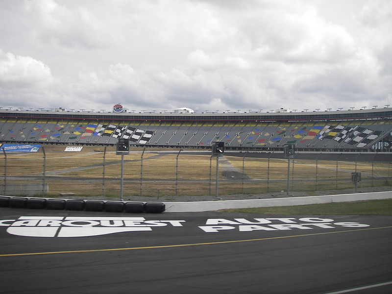 We're going on the track on a tour!